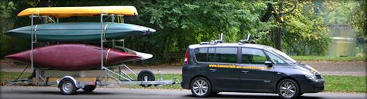 OS Kanu | Ergometer Vertrieb & Bootsverleih im Leipziger Neuseenland - Logistik
